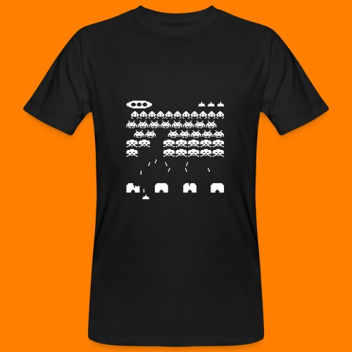 70s and 80s invaders video game - women's tee - Men's Organic T-Shirt