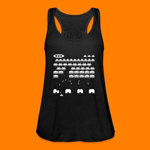 70s and 80s invaders video game - women's tee - Women's Tank Top by Bella