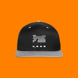 70s and 80s invaders video game - women's tee - Contrast Snapback Cap
