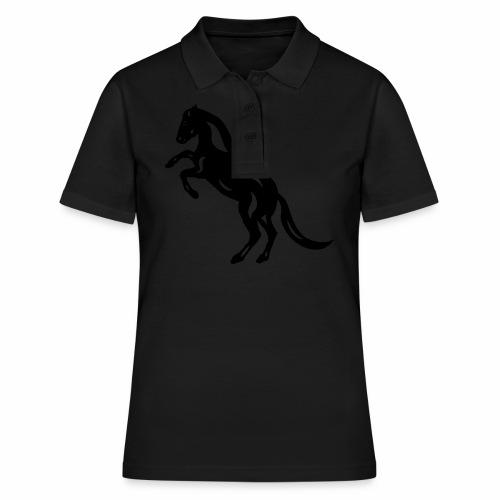 Abstraktes Pferd Emma - Frauen Polo Shirt