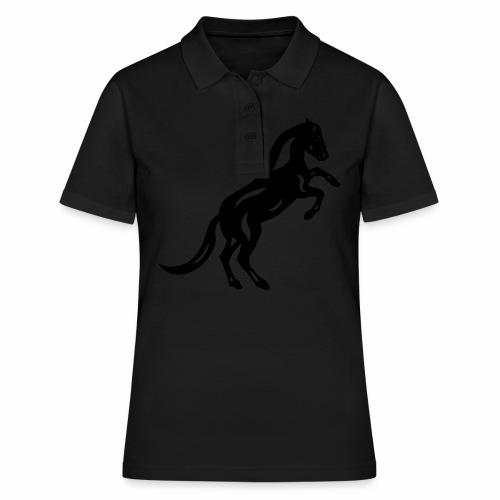 Abstraktes Pferd Emma II - Frauen Polo Shirt