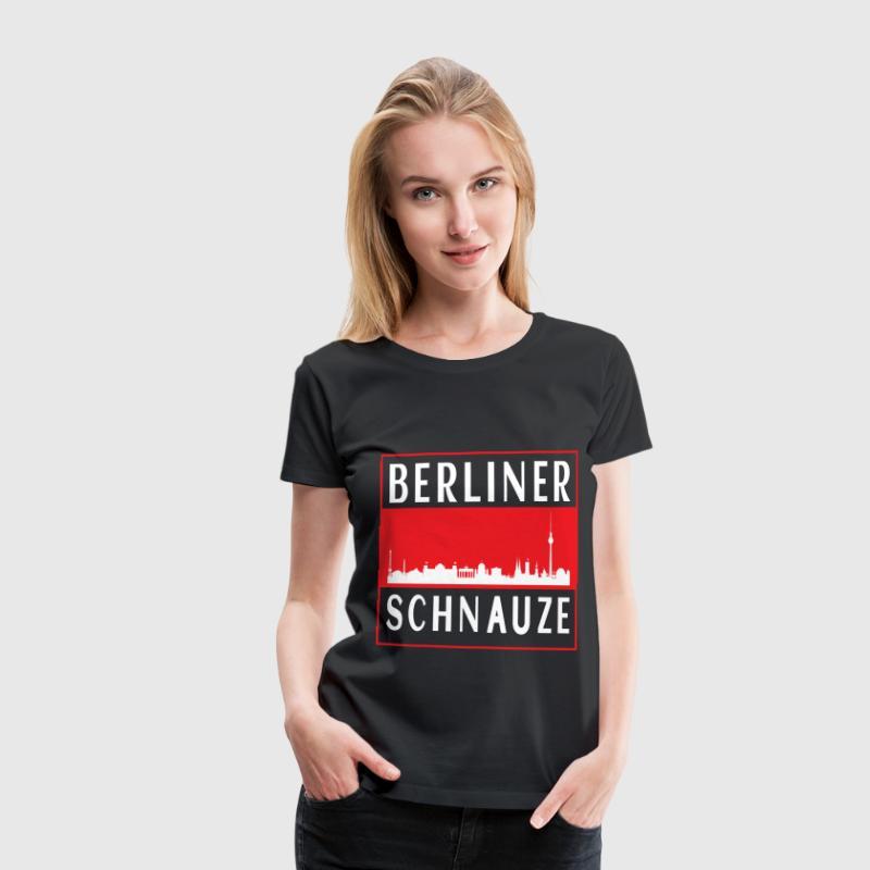 Berliner Schnauze T-Shirts - Frauen Premium T-Shirt
