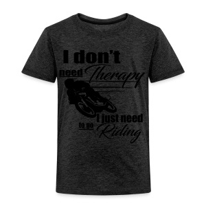 Riding Therapy Tshirt - Kinder Premium T-Shirt