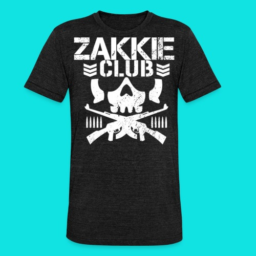 Zakkie Club - Unisex Tri-Blend T-Shirt by Bella & Canvas