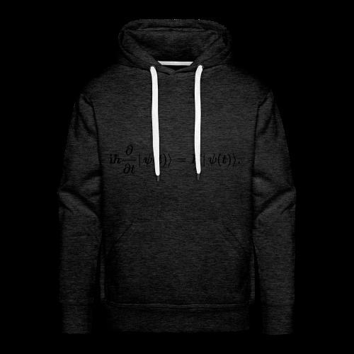 Schrödinger schwarz - Männer Premium Hoodie