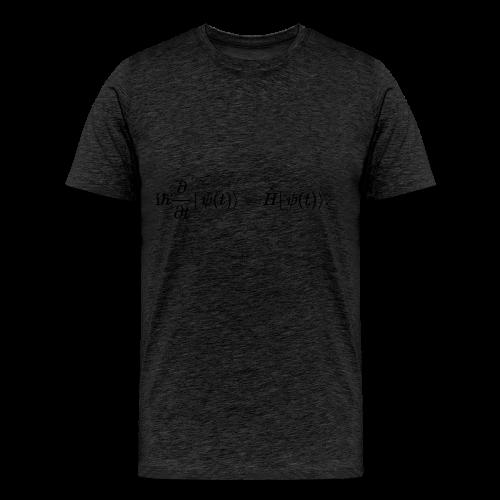 Schrödinger schwarz - Männer Premium T-Shirt