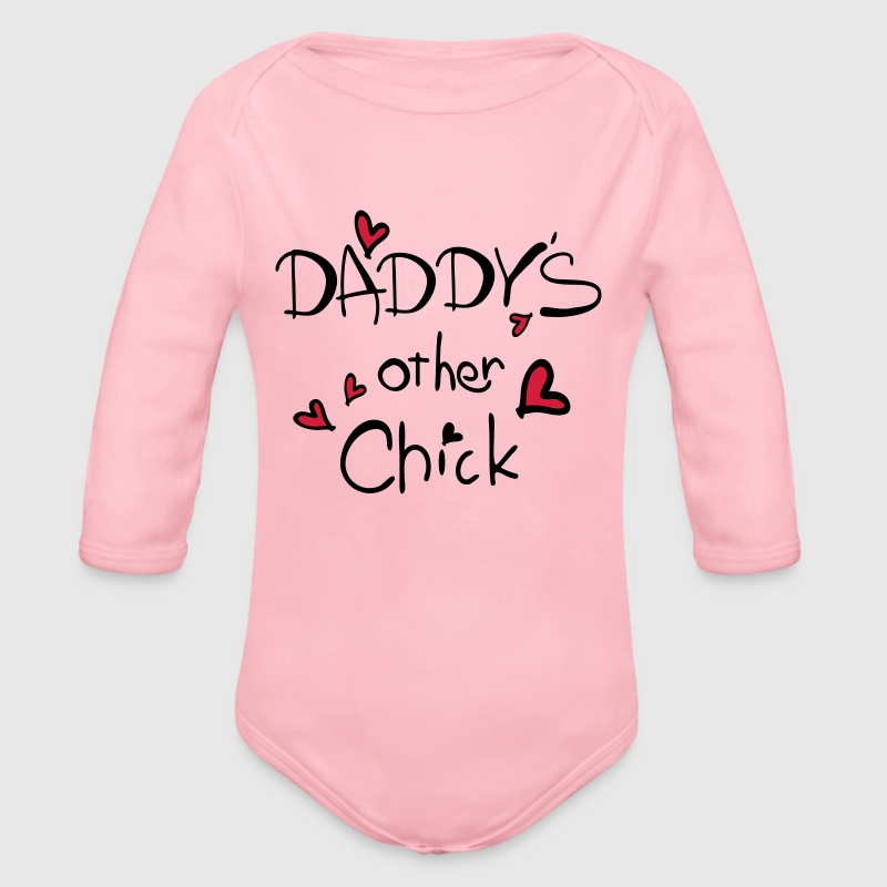 daddy's other chick  Baby One-piece - Longlseeve Baby Bodysuit