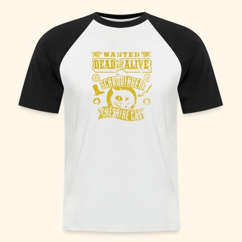 Schrödinger's Cheshire Cat - das Original - Männer Baseball-T-Shirt