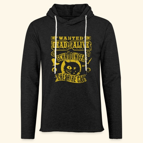 Schrödinger's Cheshire Cat - das Original - Leichtes Kapuzensweatshirt Unisex