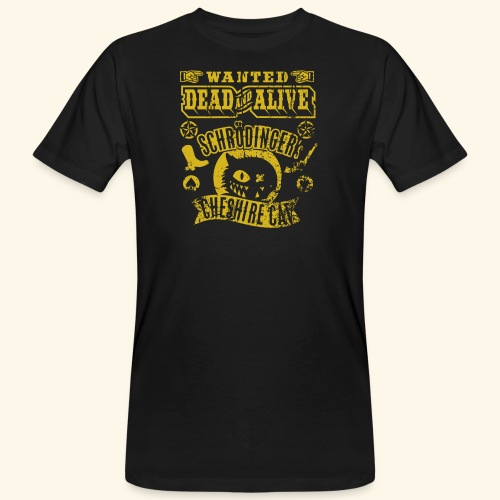 Schrödinger's Cheshire Cat - das Original - Männer Bio-T-Shirt