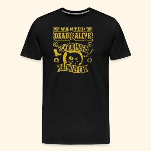 Schrödinger's Cheshire Cat - das Original - Männer Premium T-Shirt