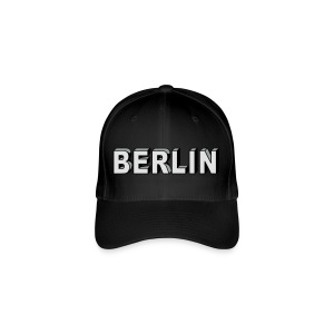 Berlin Block font Caps & Hats - Flexfit Baseball Cap