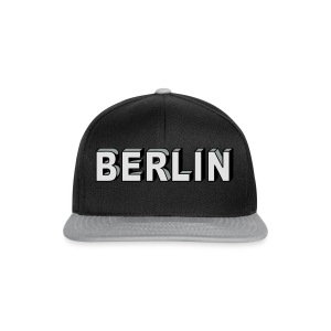 Berlin Block font Caps & Hats - Snapback Cap