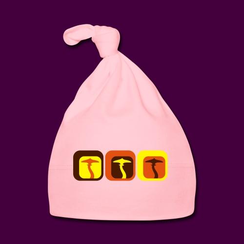 Retro Shrooms - Baby Mütze