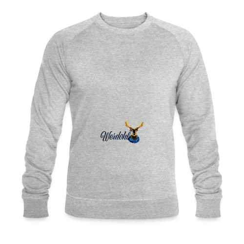 Hirsch mit Schal - Männer Bio-Sweatshirt von Stanley & Stella