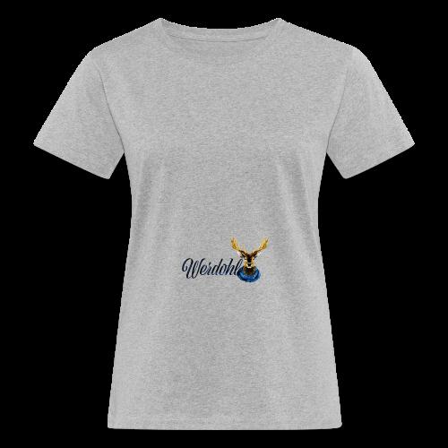 Hirsch mit Schal - Frauen Bio-T-Shirt