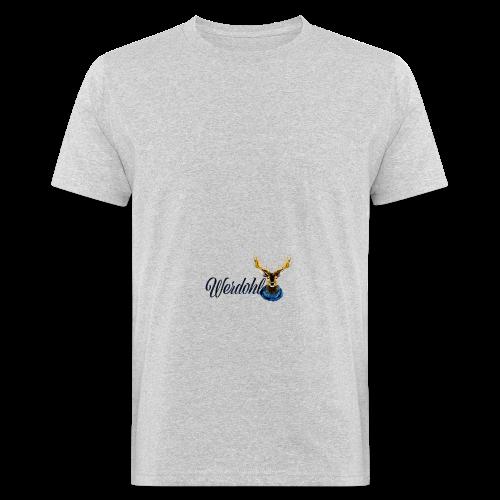 Hirsch mit Schal - Männer Bio-T-Shirt