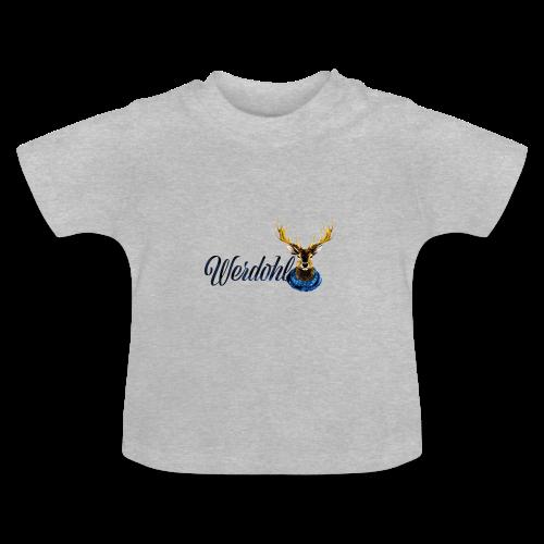 Hirsch mit Schal - Baby T-Shirt