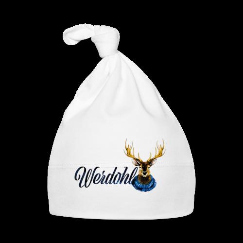 Hirsch mit Schal - Baby Mütze