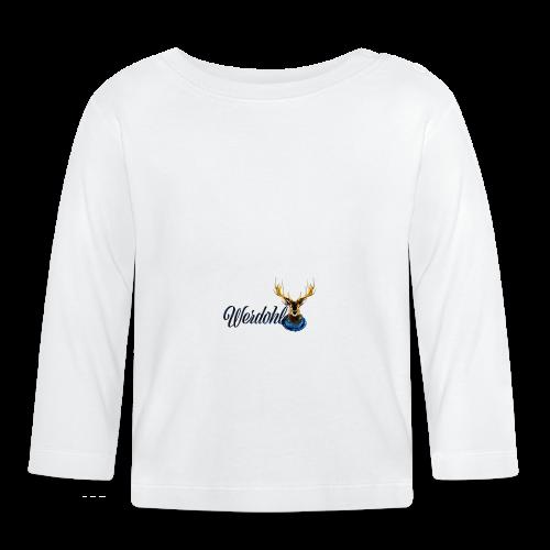Hirsch mit Schal - Baby Langarmshirt
