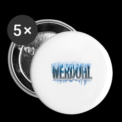 Eiszapfen - Buttons mittel 32 mm