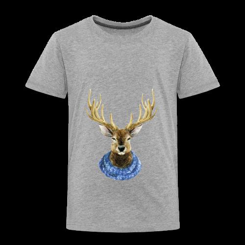 Hirsch mit Kragen - Kinder Premium T-Shirt
