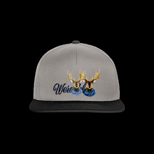 Hirsch mit Kragen - Snapback Cap