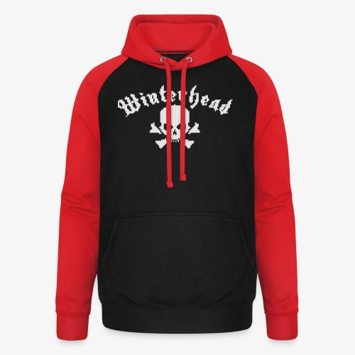 Winterhead (Strick) - Unisex Baseball Hoodie