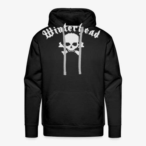 Winterhead (Strick) - Männer Premium Hoodie
