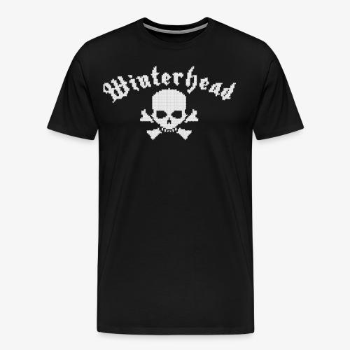 Winterhead (Strick) - Männer Premium T-Shirt