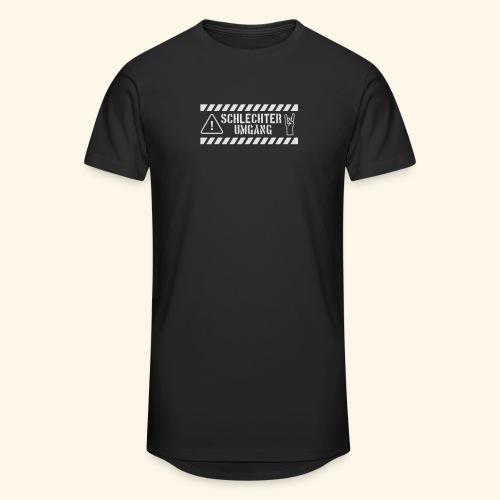 Schlechter Umgang - Männer Urban Longshirt