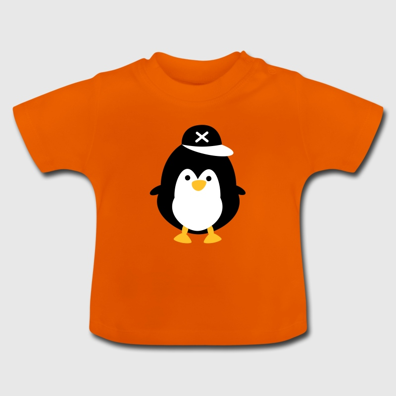 nuttet pingvin Baby T-shirts - Baby T-shirt