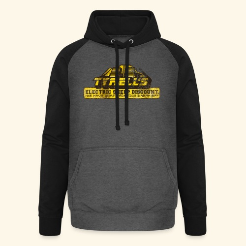 Tyrell's Electric Sheep Discount - Unisex Baseball Hoodie