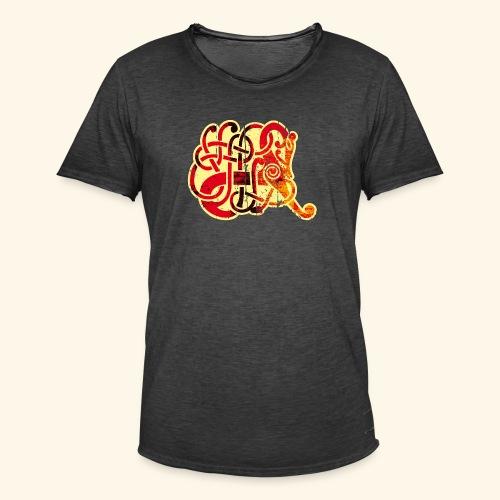 Norse Horse - Männer Vintage T-Shirt
