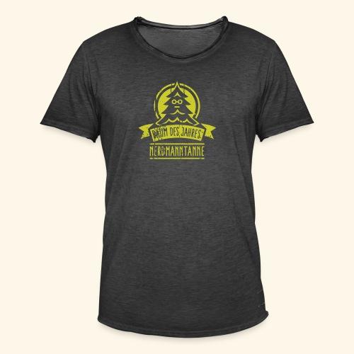 Nerdmanntanne - Männer Vintage T-Shirt