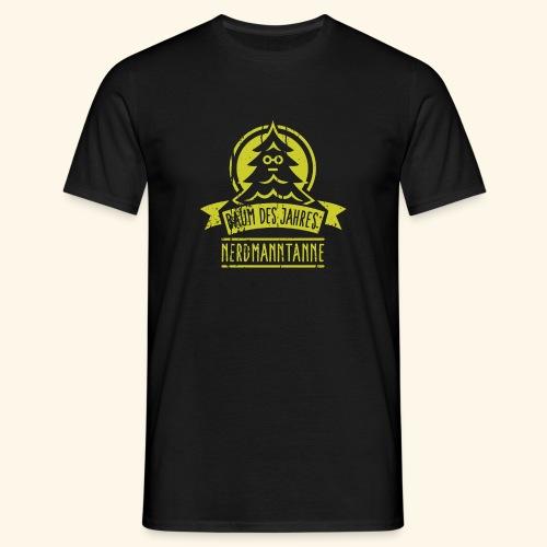 Nerdmanntanne - Männer T-Shirt