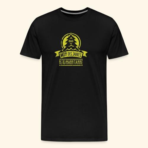 Nerdmanntanne - Männer Premium T-Shirt