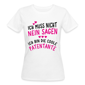 Coole Patentante - Frauen Bio-T-Shirt