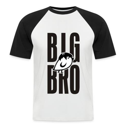 TWEETLERCOOLS - BIG BRO KÜKEN - Männer Baseball-T-Shirt