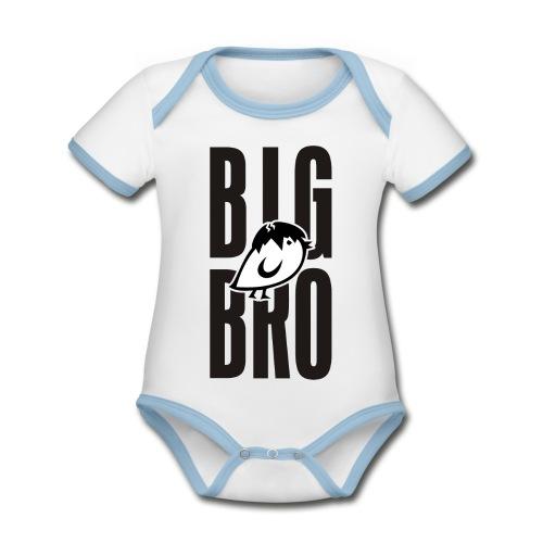 TWEETLERCOOLS - BIG BRO KÜKEN - Baby Bio-Kurzarm-Kontrastbody