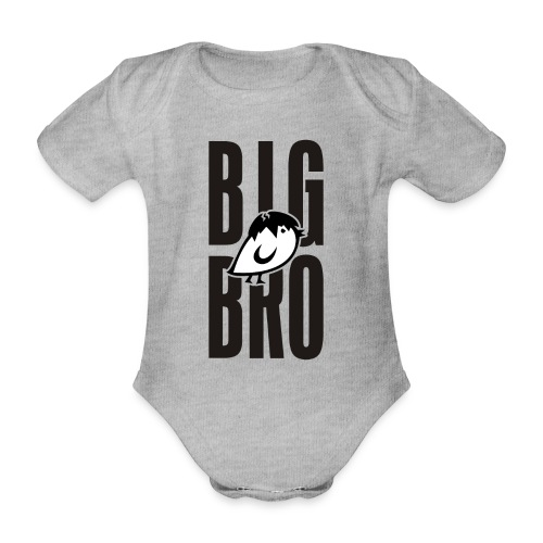 TWEETLERCOOLS - BIG BRO KÜKEN - Baby Bio-Kurzarm-Body
