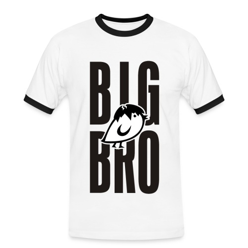 TWEETLERCOOLS - BIG BRO KÜKEN - Männer Kontrast-T-Shirt
