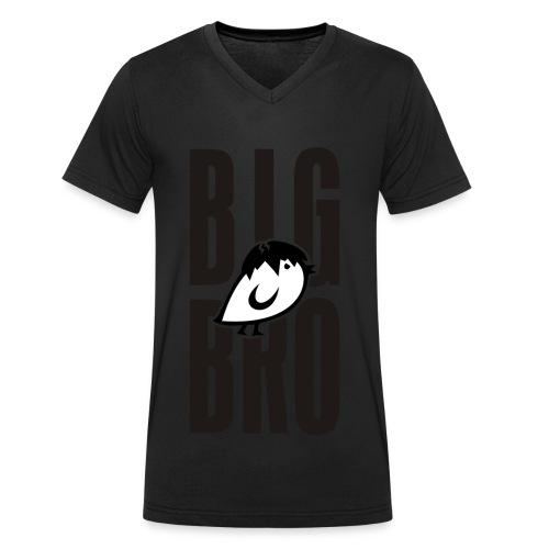 TWEETLERCOOLS - BIG BRO KÜKEN - Männer Bio-T-Shirt mit V-Ausschnitt von Stanley & Stella