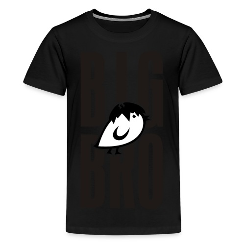 TWEETLERCOOLS - BIG BRO KÜKEN - Teenager Premium T-Shirt