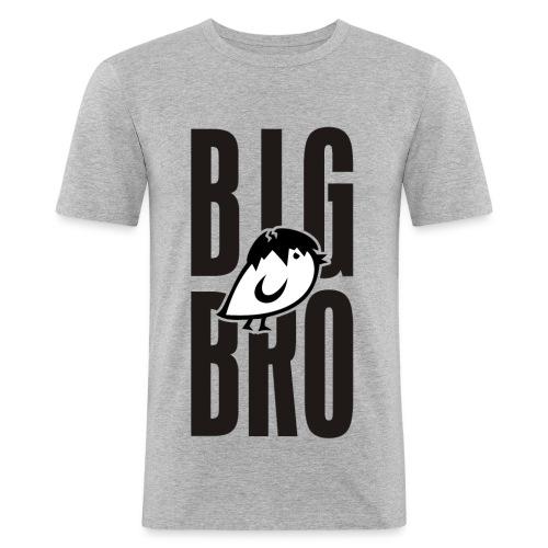 TWEETLERCOOLS - BIG BRO KÜKEN - Männer Slim Fit T-Shirt