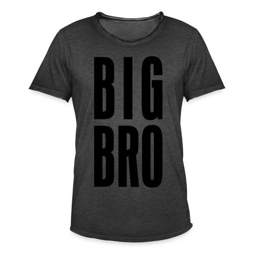 BIG BRO - Männer Vintage T-Shirt