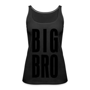 BIG BRO - Frauen Premium Tank Top