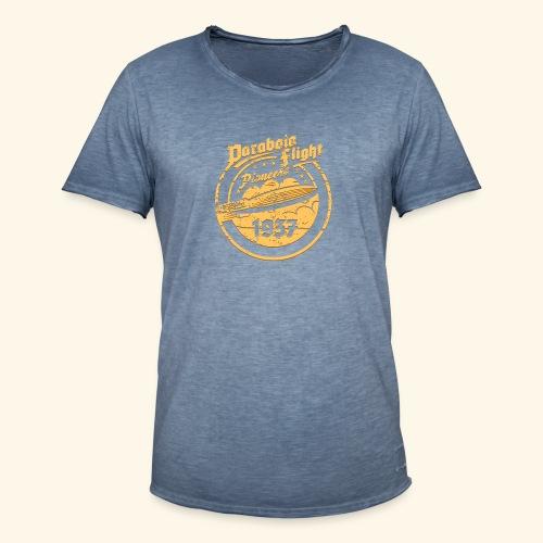 Parabola Flight Pioneers of `37 - Männer Vintage T-Shirt