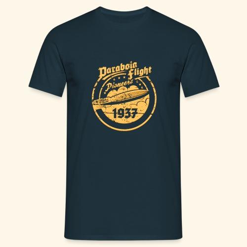 Parabola Flight Pioneers of `37 - Männer T-Shirt
