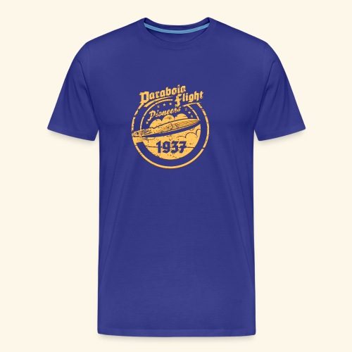 Parabola Flight Pioneers of `37 - Männer Premium T-Shirt